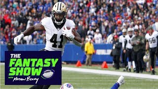 Rest will help Saints RB Alvin Kamara down the stretch | The Fantasy Show | ESPN