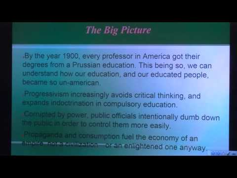 A History of Education Part 1