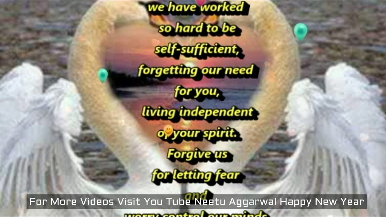 a prayer to keep god first this new yearnew year prayerhappy new year wishesblessingsprayers youtube