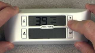 Wireless Refrigerator/freezer Thermometer