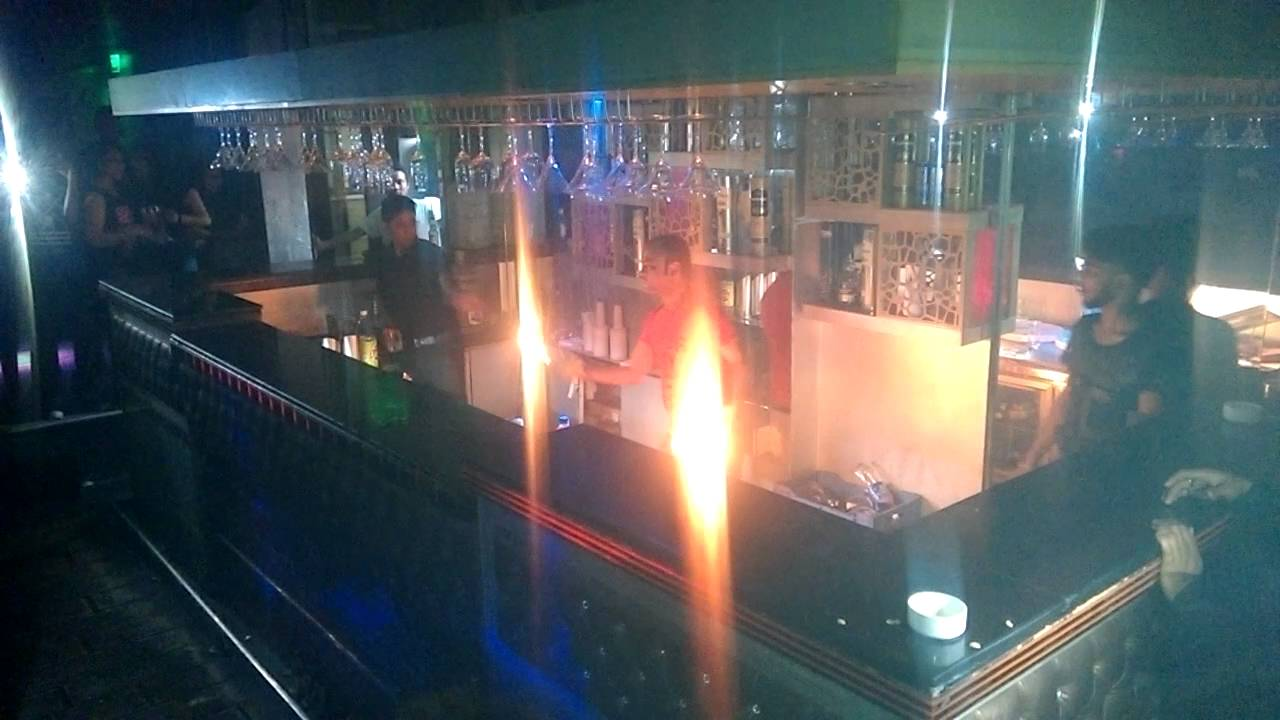 De Forbidden Club Bar Lounge Sunday party with fire fleringh - YouTube