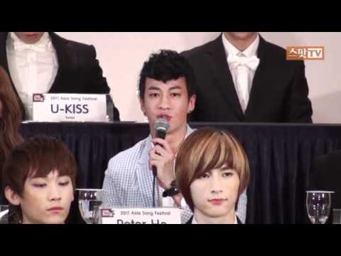 111014 Peter Ho - Press conference @ Asia song festival 2011