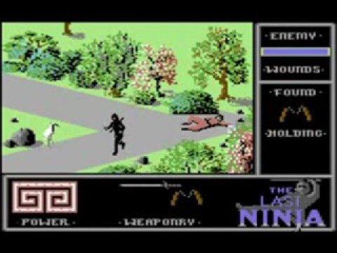 02. Last Ninja, The Wastelands