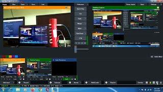 🔴🔴 Test Live Streaming di Youtube dg VMIX Laptop Modal Camera Smartphone Via NDI