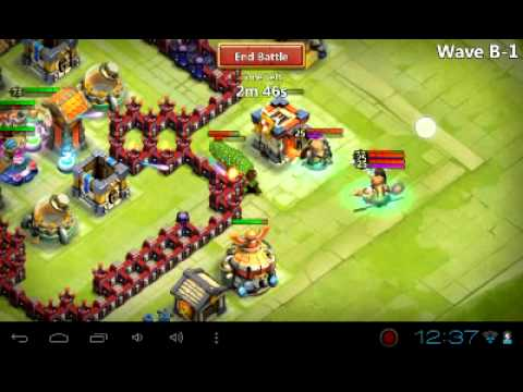 Castle Clash Best Defense For Townhall Level 14