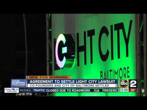 City of Baltimore and co-founders of Light City settle lawsuit