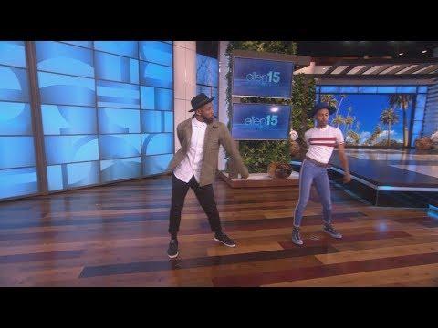 Exclusive: tWitch & Kalen Allen Dance Off
