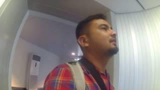 Naik Ke Pesawat Garuda Indonesia di Terminal 3 Ultima Bandara Soekarno Hatta