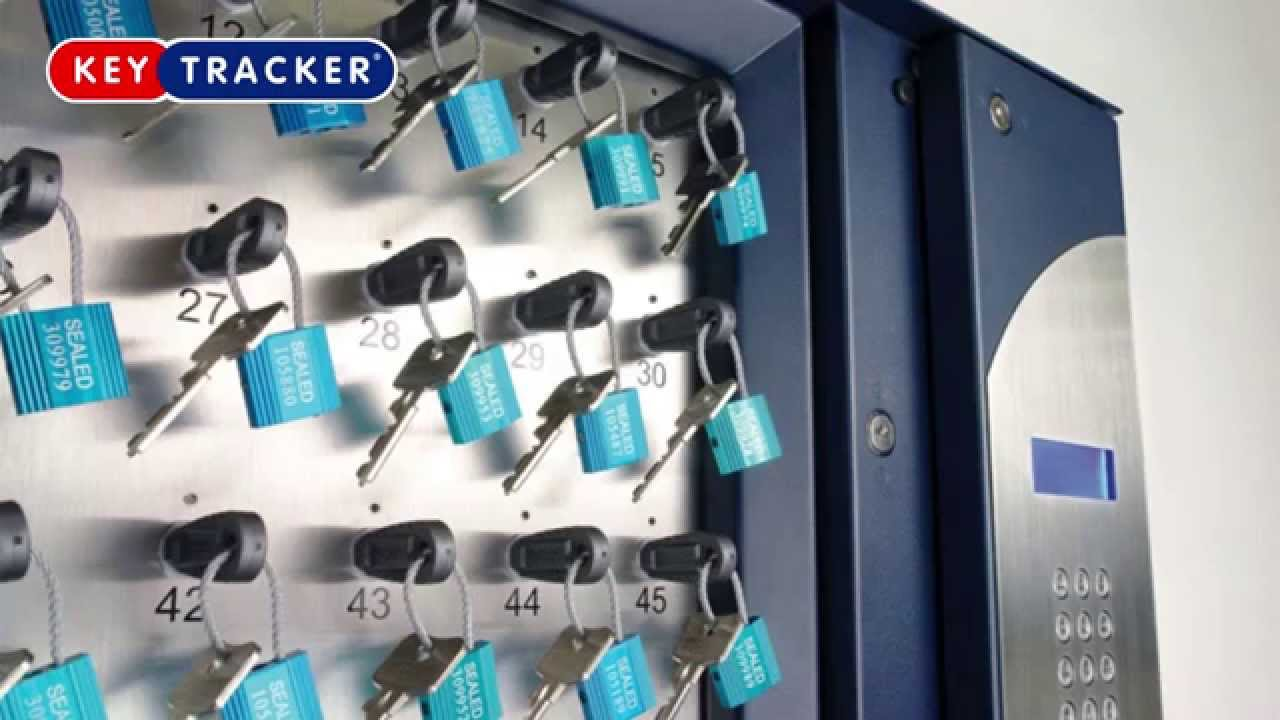 Keytracker S Electronic Key Management System Youtube