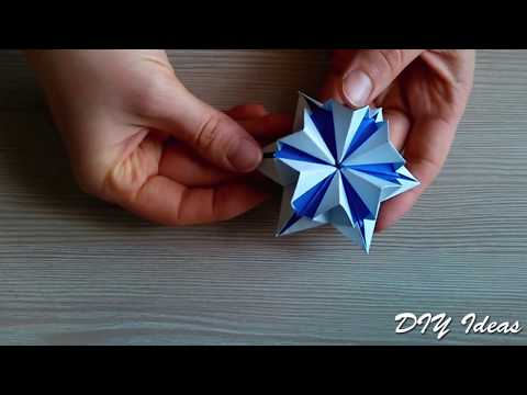 Unique Origami flower. 3d paper flower! Great Ideas for Easter decorations