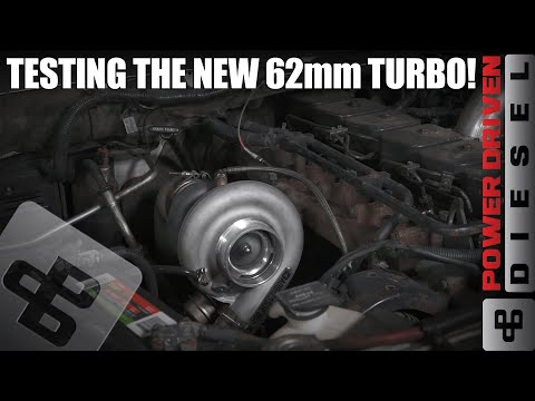 New Turbo Test, 50 psi of boost! | Power Driven Diesel