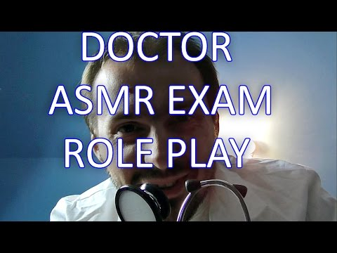 Doctor Came To Your House. ASMR Medical Examination Role Play Binaural