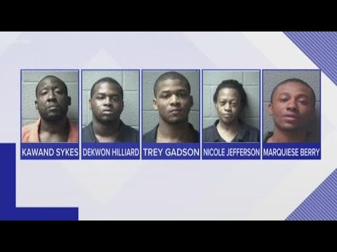 Multiple Arrests In Orangeburg County