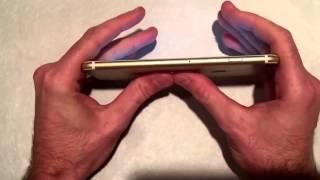 تجربة: تحمل كسر أيفون 6 بلس الذهبي Experience: bear breaking iPhone 6 Plus Golden 64GB