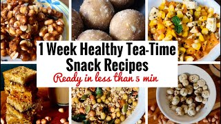 Find text version of these snack recipes on my website www.foodfitnessnfun.com in english :- https://www.foodfitnessnfun.com/7-healthy-tea-time-snacks-ready-...