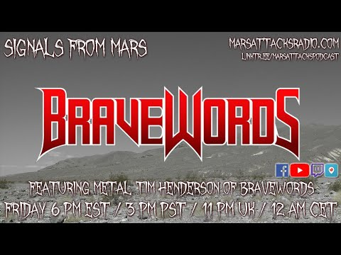 """""""Metal"""" Tim Henderson Of Bravewords 