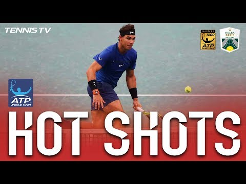 Nadal Cool Undrer Pressure Hot Shot | HD Highlights