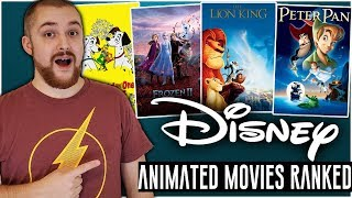 Ranked Disney Animated Movies