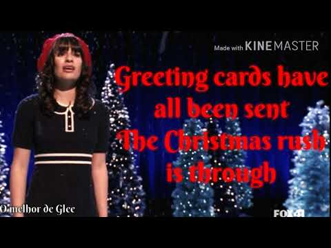 Glee - Merry Christmas, Darling (Lyrics)