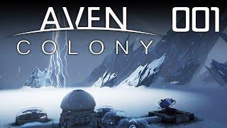AVEN COLONY [01] [Erste menschliche Siedlung im Weltraum] [Let's Play Gameplay Deutsch German] thumbnail