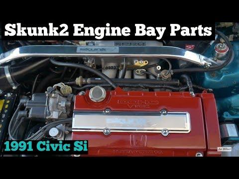 Skunk2 Fuel Rail & Short Shifter Install - 1991 Civic Si B16A