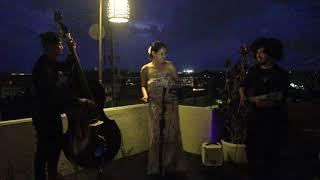 Mia Samira Trio live at GROW UP Rooftop Bar