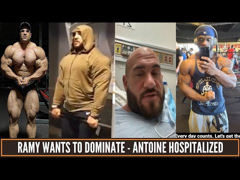 Big Ramy's new goal - Antoine hospitalized - Michael Lockett lost massive gains & more updates .