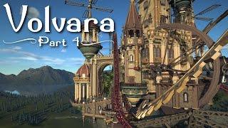 Planet Coaster - Volvara (Part 4) - Towers & Coaster Layout