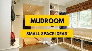 45+ Best Small Space Mudroom Ideas from Pinterest