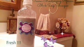 Moisturizing African Black Soap Shampoo Thumbnail