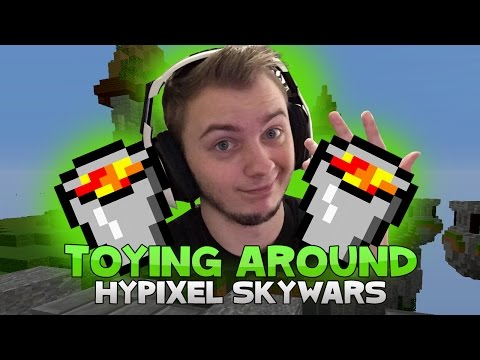 TOYING AROUND WITH THE LAST PLAYER! ( Hypixel Skywars )