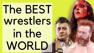 Best Wrestlers in the World Right Now | Pro Wrestling Talk Show | #shorts #youtubeshorts