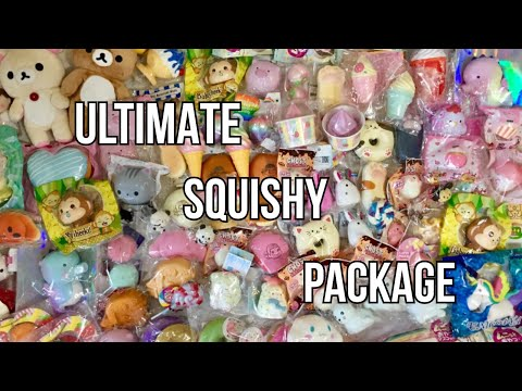 ULTRA GIGANTIC 100+ SQUISHY PACKAGE | I HAVE ISSUES EDITION #1000
