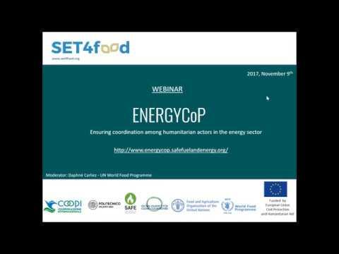 Webinar - The ENERGYCoP Platform