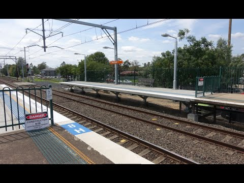 New Intercity Fleet Enabling Work: Emu Plains Station