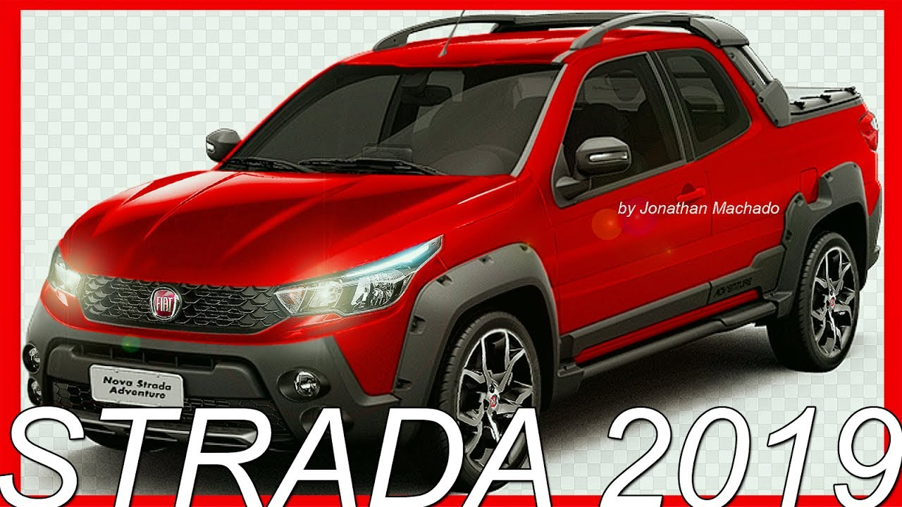 Photoshop Fiat Strada 2019 Facelift Fiatstrada