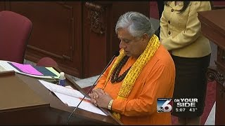 Historic Hindu prayer a first at Idaho Statehouse