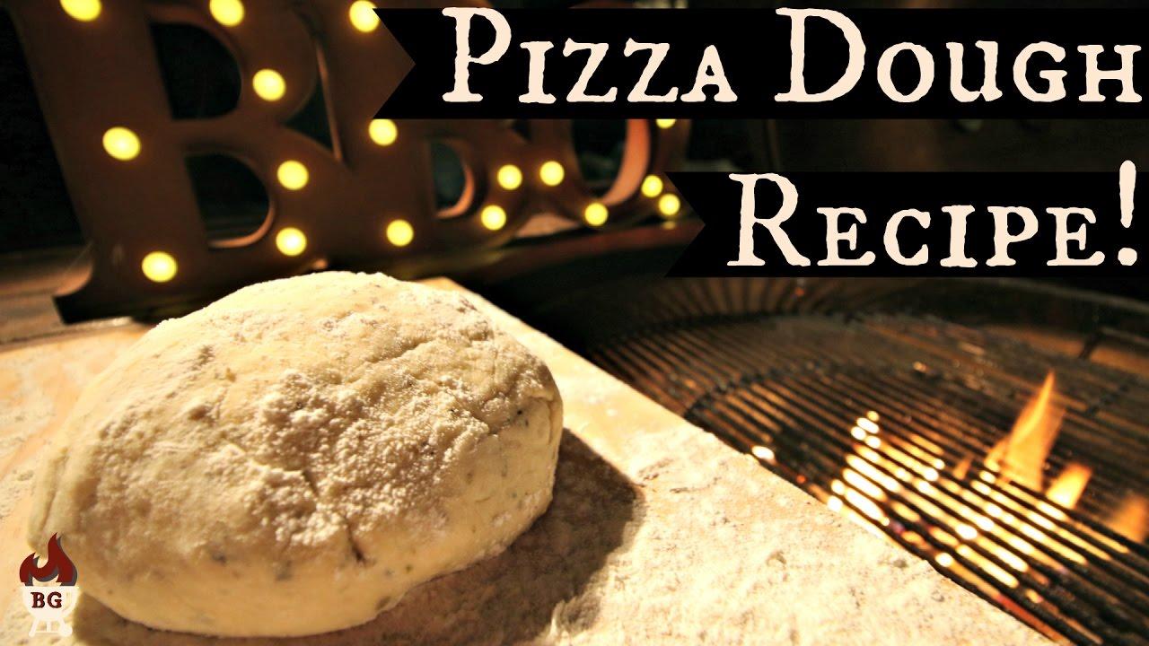 pizza dough recipe fast rising dough for the barbecue youtube
