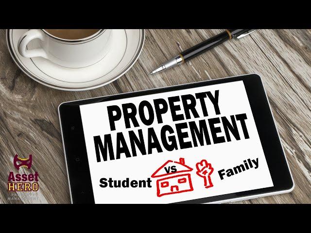 Student vs  Family Renters   Asset Hero Property Management