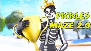 """How to beat """"Pickles Escape Maze 2.0   Fortnite Creative   Glitch"""