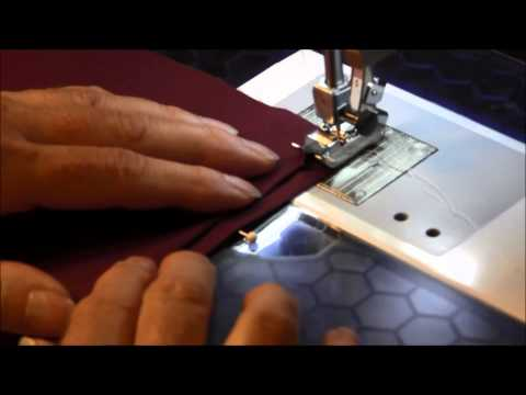 Blind Hem Stitch Using the Sewing Machine