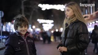 ¿Qué pasa si pones un niño frente a un niña y le pides que la abofetee?