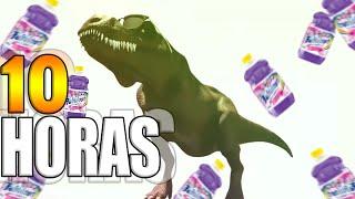 Dinosaurio bailando fabuloso - 10 horas   10 HOURS DANCE FABULOSO😂 (original)