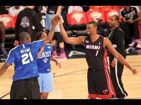 Team Bosh Takes Home the Shooting Stars Challenge