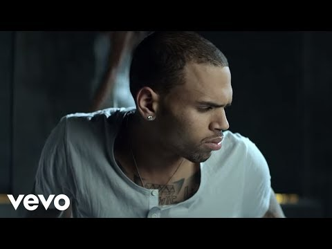 Screen shot of Chris Brown Dont Wake Me Up music video