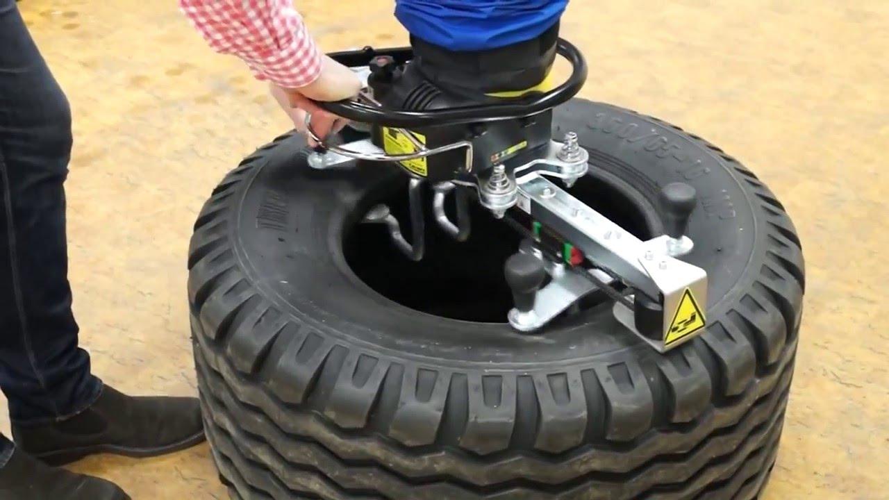 Manipulador por vacío para neumáticos
