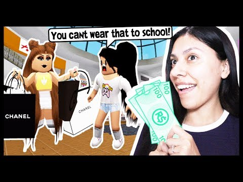 BACK TO SCHOOL SHOPPING WITH MY BEST FRIEND! - Roblox Roleplay