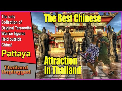 Pattaya fantastic  Museum with Chinese Original Terracotta Warrior soldiers in ultra 4K
