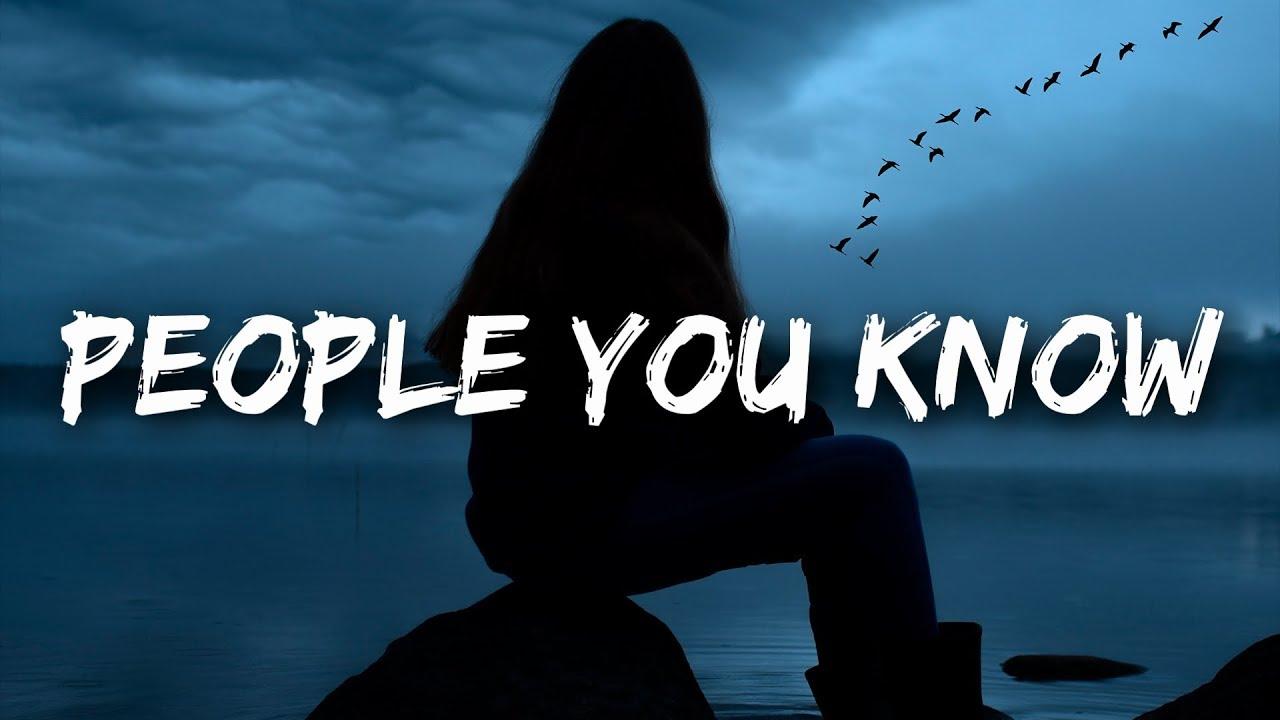 Selena Gomez - People You Know (Lyrics)