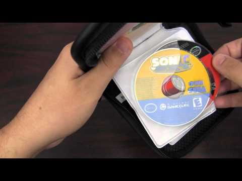 CGRundertow MAD CATZ NINTENDO GAMECUBE DISC WALLET Video Game Accessory Review